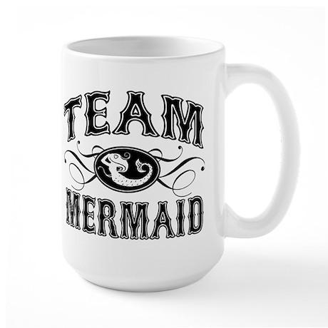 Team Mermaid Large Mug