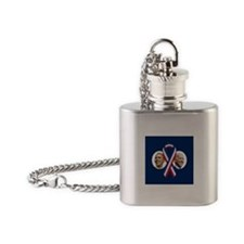 Classic Obama Biden Flask Necklace