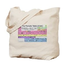 The Periodic Table of AAC Tote Bag