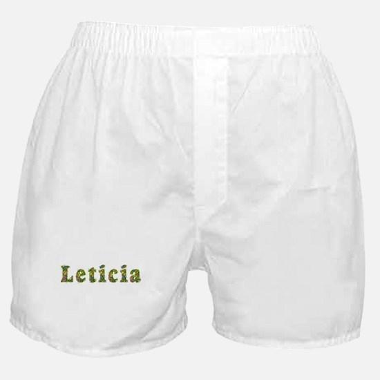 Leticia Floral Boxer Shorts