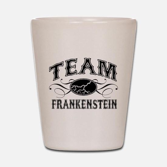 Team Frankenstein Shot Glass