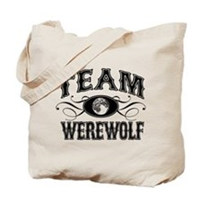 Team Werewolf Tote Bag
