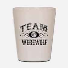 Team Werewolf Shot Glass