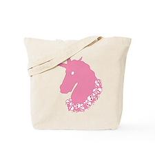 Pink Zombie Unicorn Tote Bag