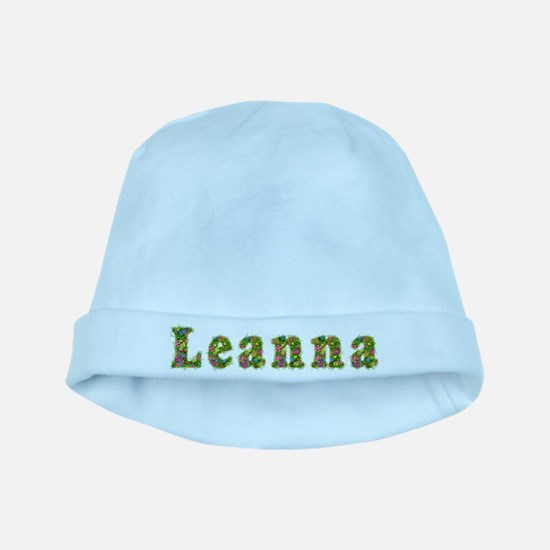 Leanna Floral baby hat