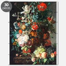 Jan Van Huysum Flower Bouquet Puzzle