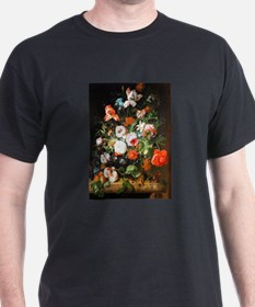 Rachel Ruysh Flower Bouquet T-Shirt