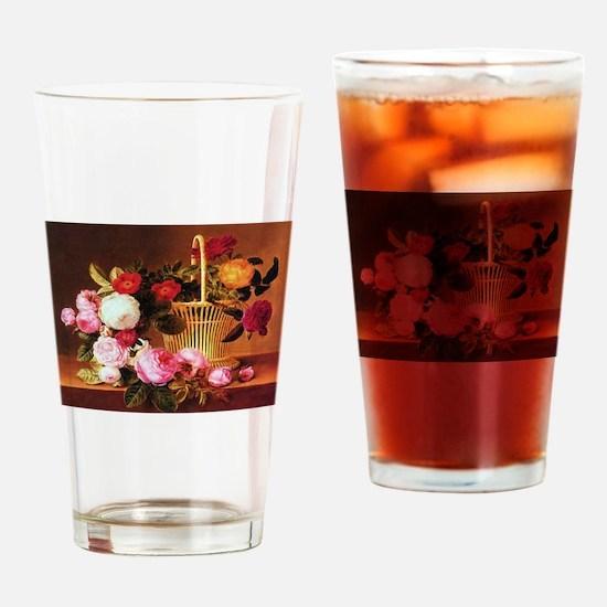 Johan Laurentz Jensen Basket of Roses Drinking Gla