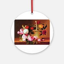Johan Laurentz Jensen Basket of Roses Ornament (Ro