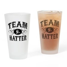 Team Hatter Drinking Glass