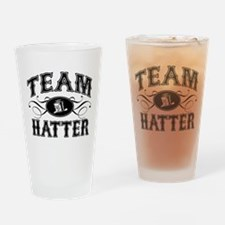 Team Hatter Drinking Glass