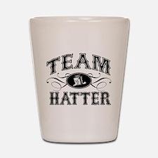 Team Hatter Shot Glass