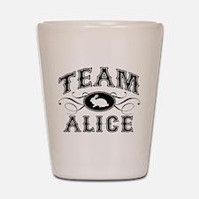 Team Alice Shot Glass