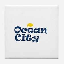 Ocean City NJ. Tile Coaster