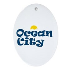 Ocean City NJ. Ornament (Oval)