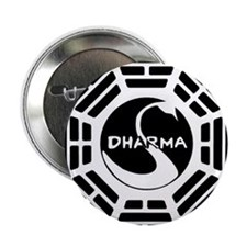 "LOST DHARMA MUG 2.25"" Button"