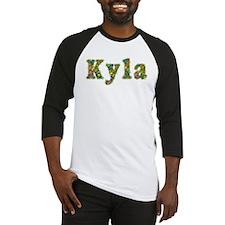 Kyla Floral Baseball Jersey