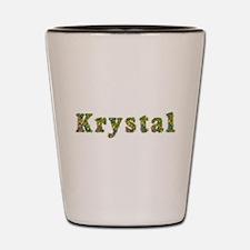 Krystal Floral Shot Glass