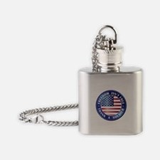 Freedom Isn't Free Thank Soldier Flask Necklace