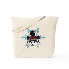 Alaskan Malamute puppy Tote Bag