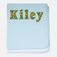 Kiley Floral baby blanket