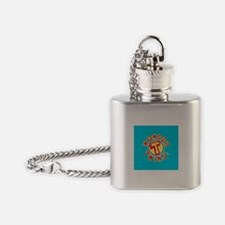 Wondertwins Flask Necklace
