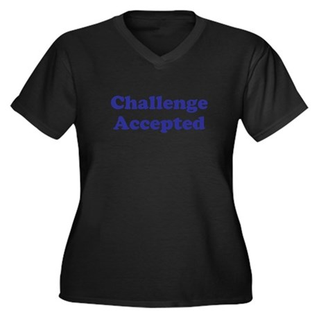 HIMYM: Challenge Accepted Women's Plus Size V-Neck