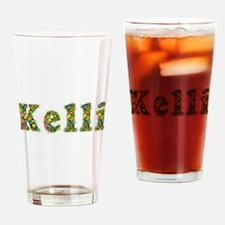 Kelli Floral Drinking Glass