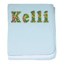Kelli Floral baby blanket