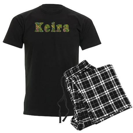 Keira Floral Men's Dark Pajamas