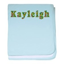 Kayleigh Floral baby blanket