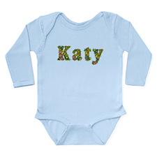 Katy Floral Long Sleeve Infant Bodysuit
