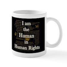 I am Human Rights Dark Mug