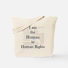 I am Human Rights Tote Bag