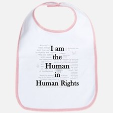 I am Human Rights Bib
