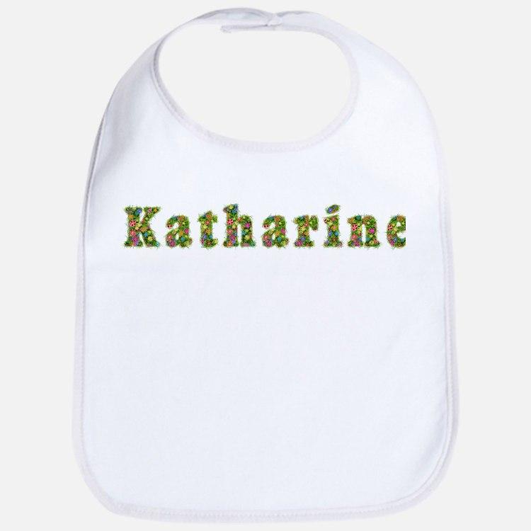 Katharine Floral Bib