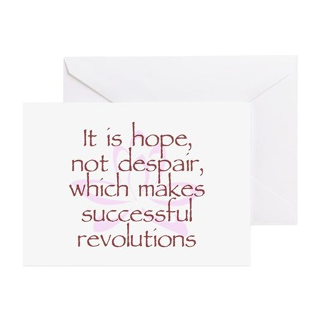 Hope Not Despair V1 Greeting Cards (Pk of 20)