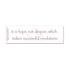 Hope Not Despair V1 Car Magnet 10 x 3