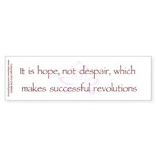 Hope Not Despair V1 Bumper Sticker