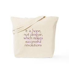 Hope Not Despair V1 Tote Bag