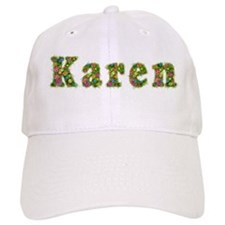 Karen Floral Baseball Cap