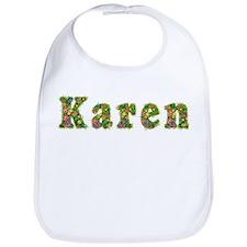 Karen Floral Bib