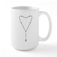 Rosary Graphic Mug