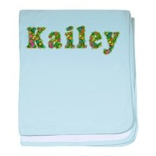 Kailey Floral baby blanket