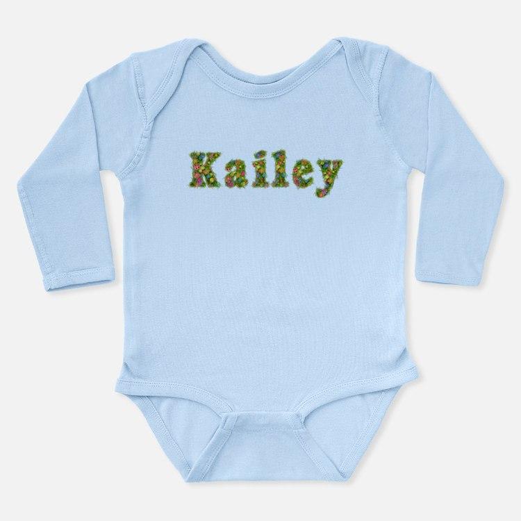 Kailey Floral Long Sleeve Infant Bodysuit