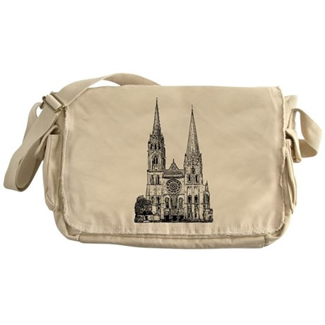 Chartres Cathedral Messenger Bag