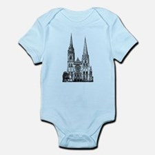 Chartres Cathedral Infant Bodysuit