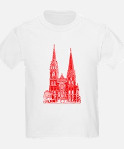 Red Cathedral Graphic T-Shirt
