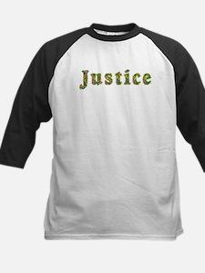 Justice Floral Kids Baseball Jersey