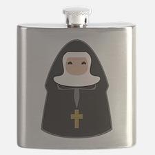 Cute Nun Flask